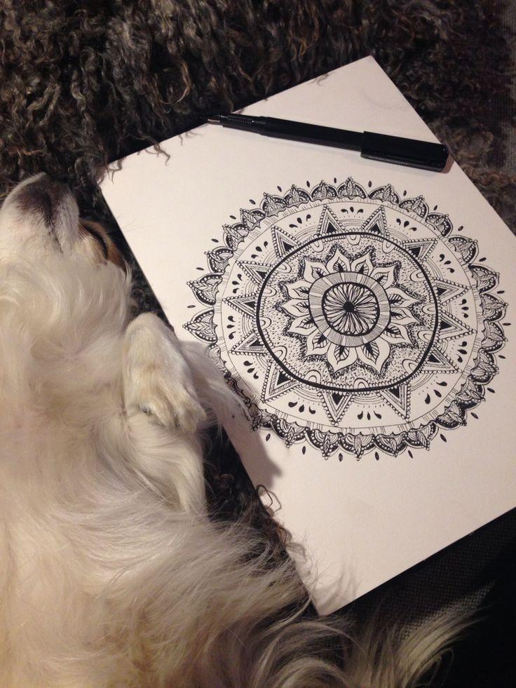 Mandala. Just like therapy!