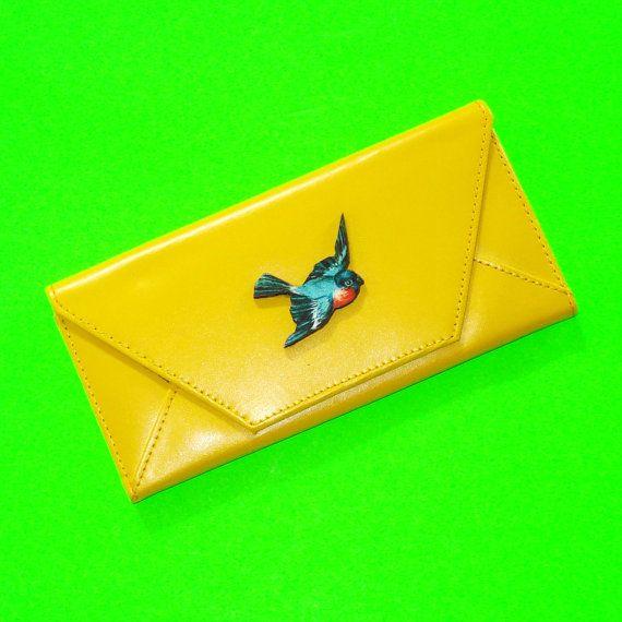Robin Wallet https://www.etsy.com/ca/listing/279873774/soaring-bird-fat-robin-swallow-bright