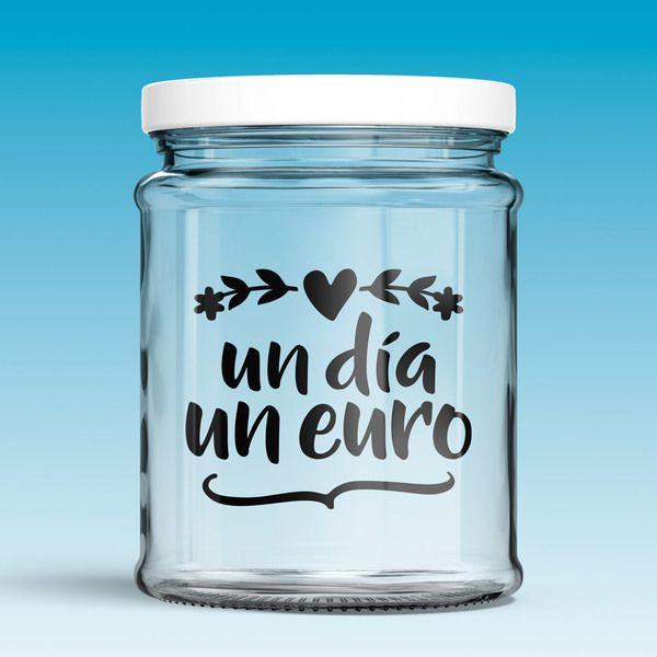 Vinilos Decorativos: Un día, un euro 0
