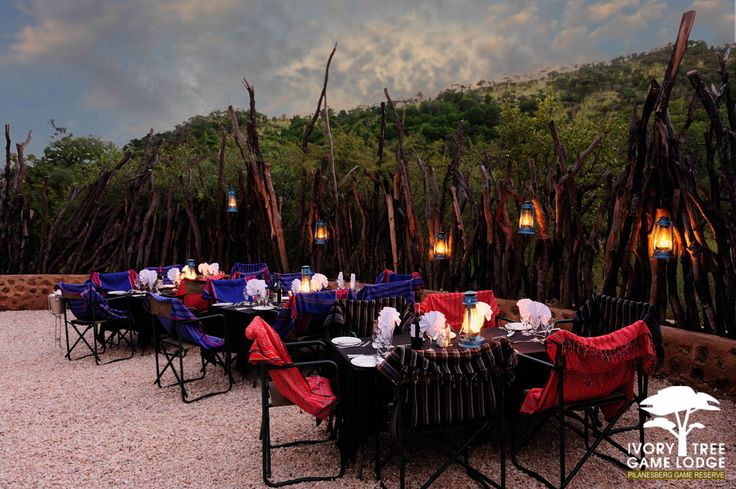 Ivory Tree Game Lodge - Boma Dining