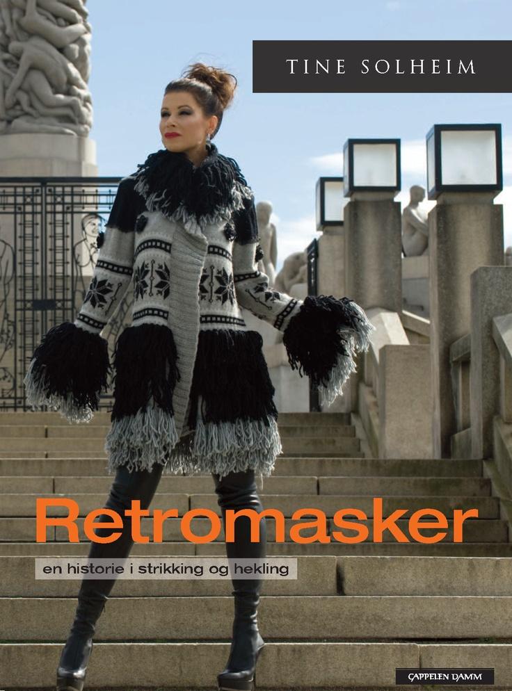 Retromasker, norwegian style knitting