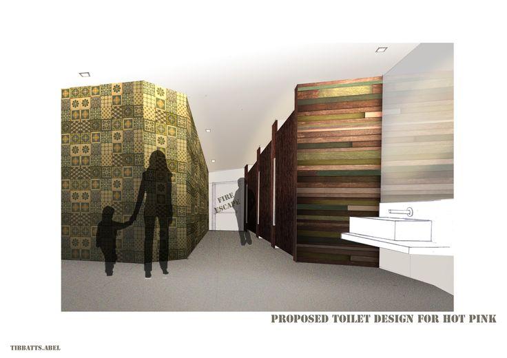 Photoshopped Visualisation Of Interior Design Project. Restaurant Interior  Design By Tibbatts Abel.
