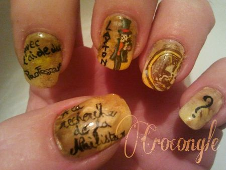 Nail art professeur LaytonCrocongle