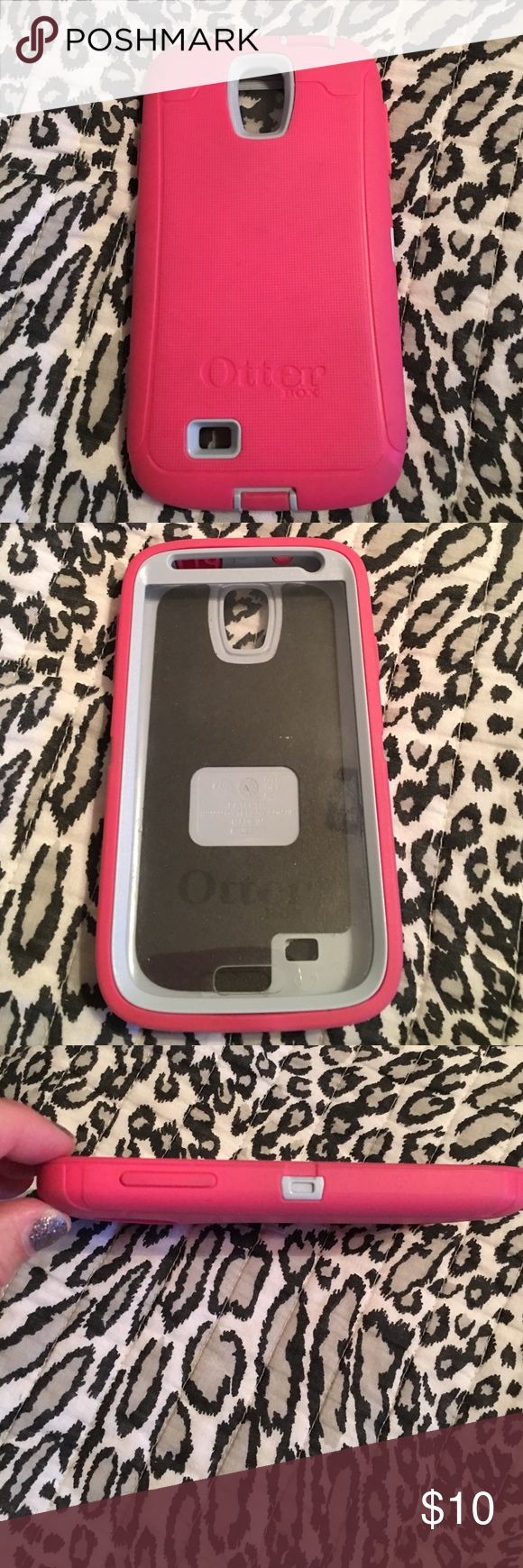 Otterbox Samsung S4 Case Good Condition Pretty Pink Color OtterBox Other