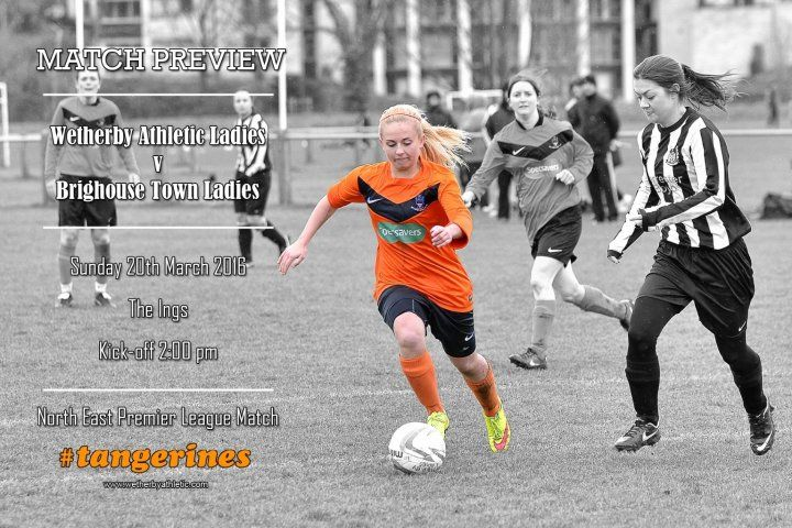 MATCH PREVIEW: Wetherby Host League Leaders Brighouse Town. http://www.wetherbyathletic.com/news/match-preview--brighouse-town-ladies-1584200.html