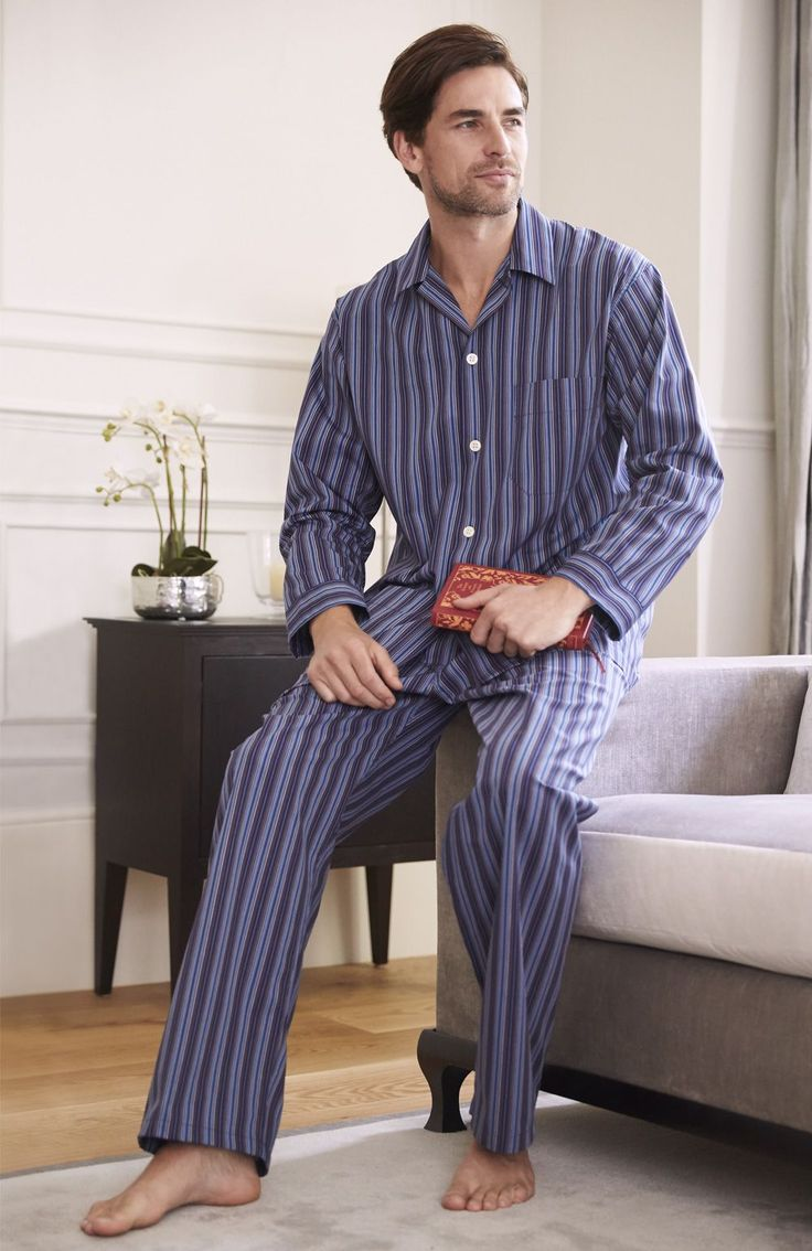 Heritage Collection Pyjamas. The Heritage pyjamas are a classic Bonsoir style in an assortment of colourful woven checks and stripes so you can choose your best look.