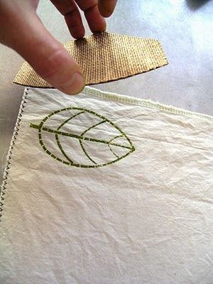 Printing Fabric tutorial by Jezze
