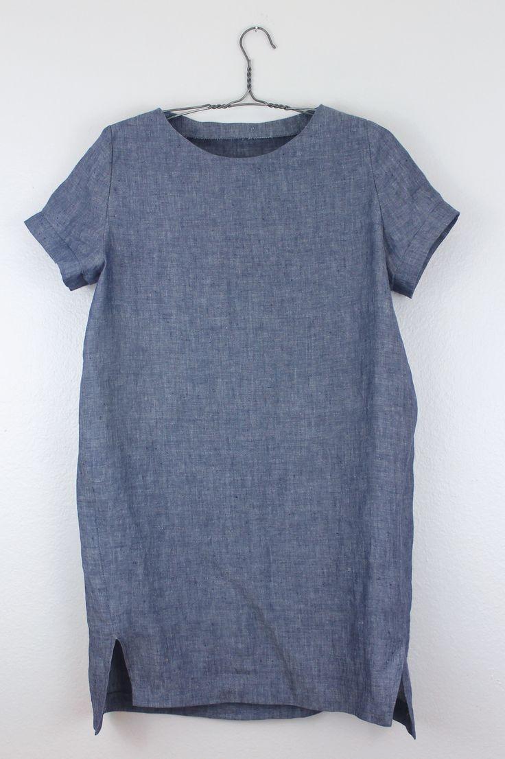 DIY Lino Cocoon Vestido    DIY Cosa