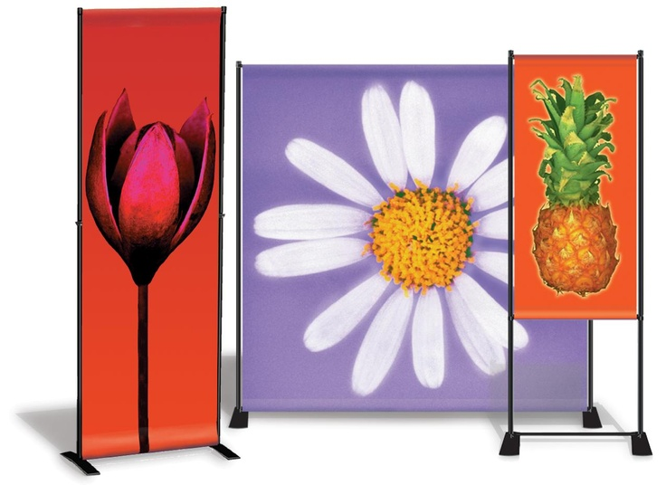 DisplayOne banner stands are lightweight and made in the USA! #bannerstand #madeintheusa