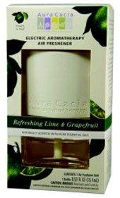 Aura Cacia Electric Air Freshener Refreshing Lime+Grapefruit 1 Kit