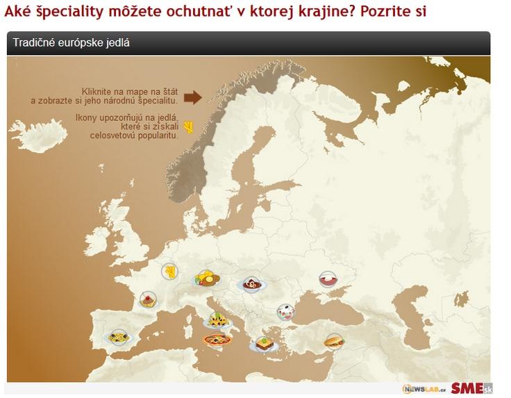 Spoznajte tradičnú kuchyňu európskych štátov.