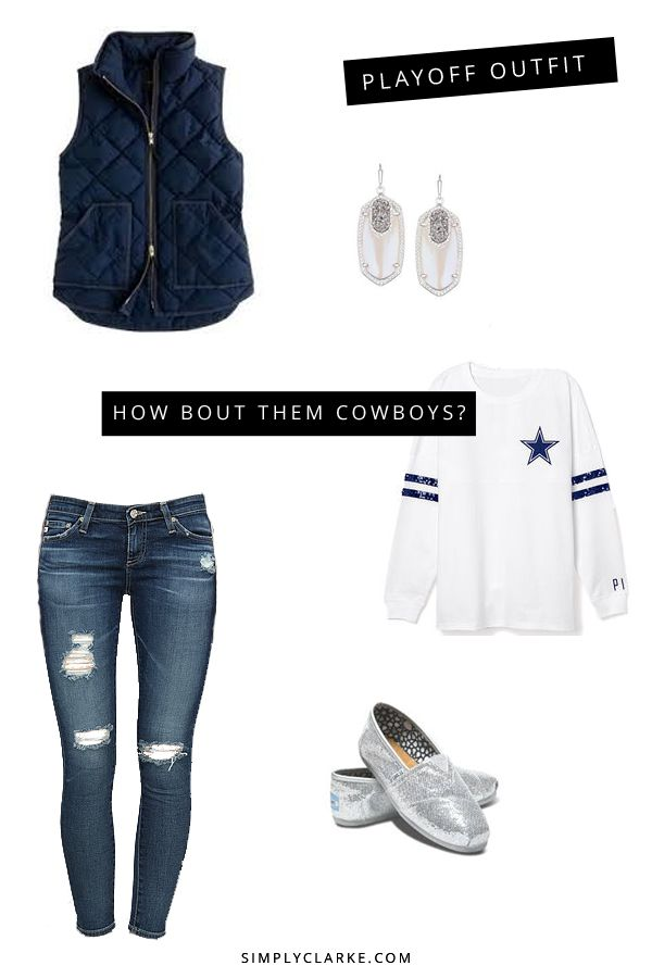 cheap air jordan sneakers china 2015 NFL Playoff Outfit   Simply Clarke  dallascowboys  playoffoutfit