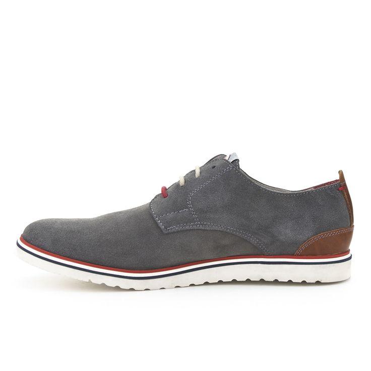 FOSCO Zapato Blucher Piel Fosco Gris