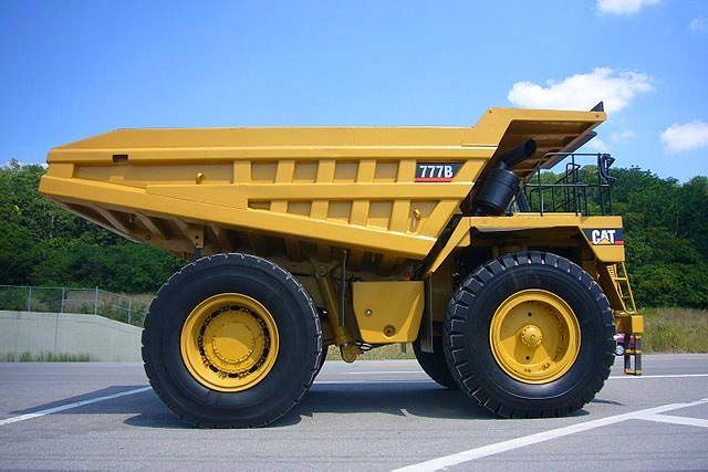 CAT 777B 1989 Dump Truck - Caterpillar Rigid Haul Trucks for Sale
