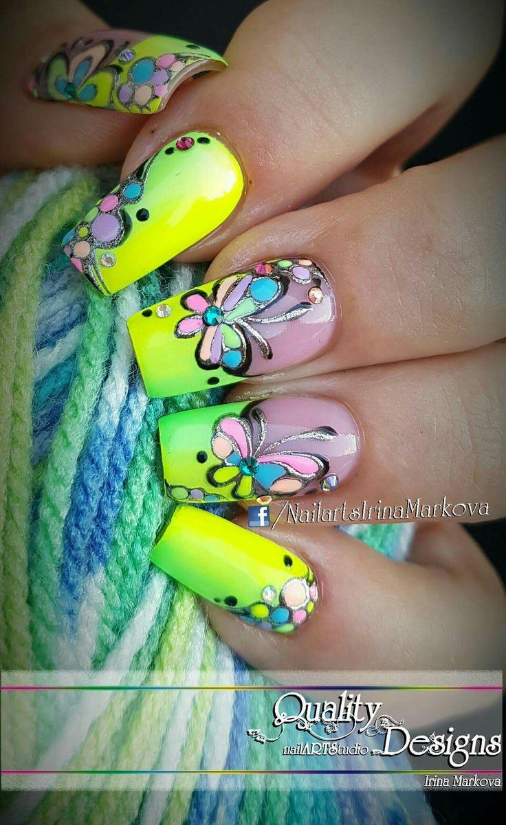 469 mejores imágenes de uñas 2 en Pinterest | Ongles, Ps y Uña decoradas