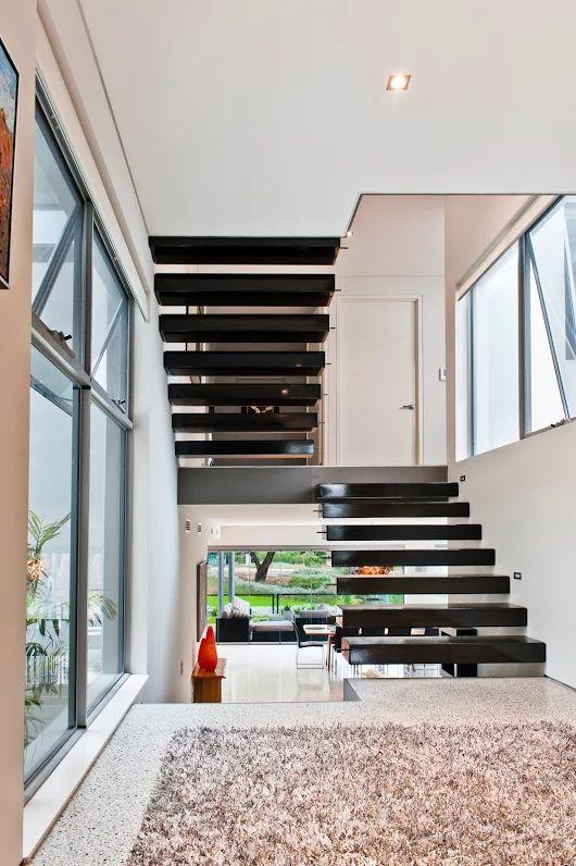 Home Builders Advantage- Perth's Biggest Building Broker- Modern Staircase Designs- www.homebuildersadvantage.com.au
