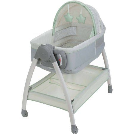Portable Baby Bassinet and Diaper Changer Station with Canopy and Wheels Only 5 In Stock Order Today! Product Description: Dream Suite is a reversible bassinet