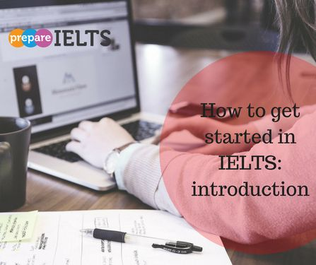 how to get started in IELTS