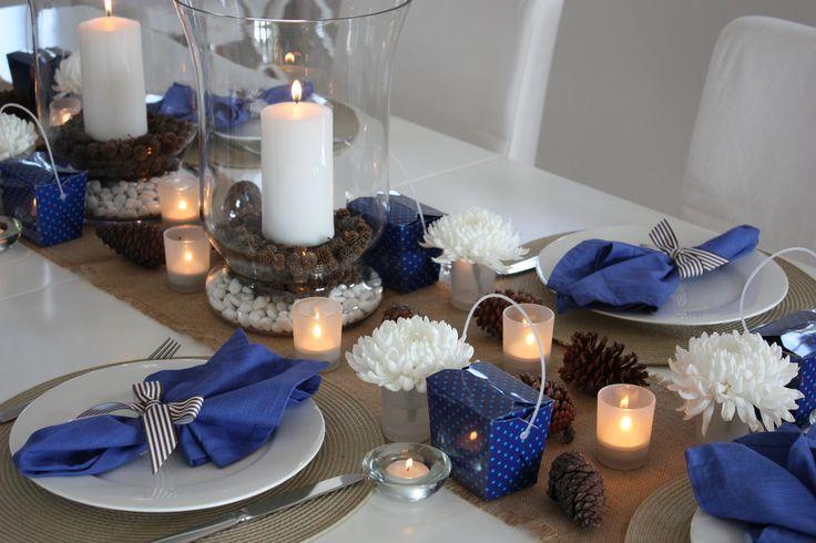 pastor appreciation table ideas   Winter wonderland ...