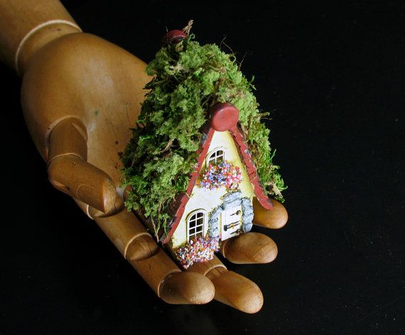 The Fairy Houses of Mossy Lane Handcrafted by bewilderandpine