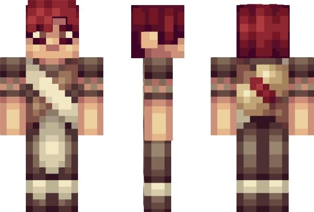 Gaara Minecraft Skin