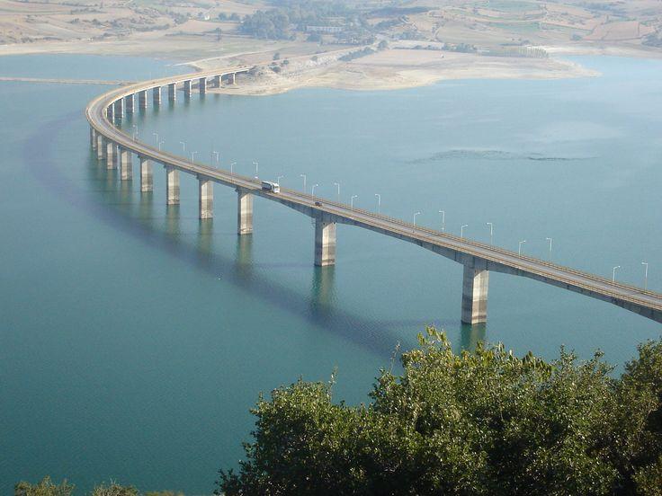 Γέφυρα Λίμνης Πολυφύτου (Γέφυρα Σερβίων)