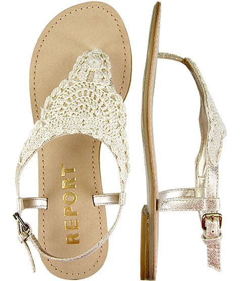 cute lacy sandals