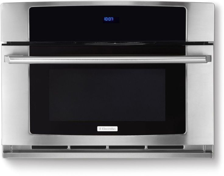 """Electrolux EW30SO60QS 30"""" Built-In Convection Microwave Oven with Drop-Down Door Stainless Steel Microwave Ovens Microwave Built-In"""