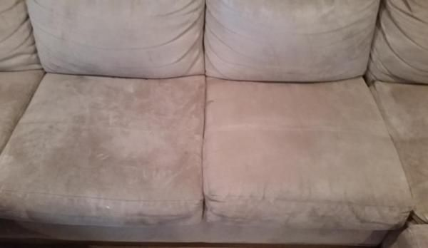 how to clean microfiber couch with windex