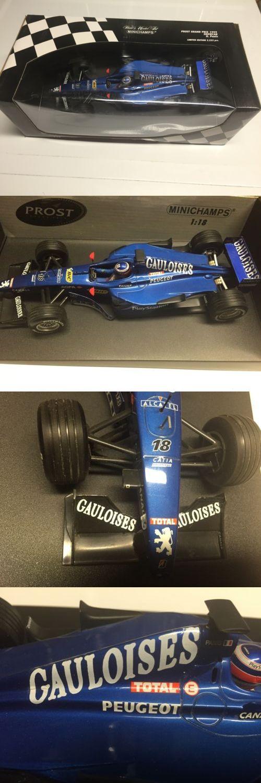 Formula 1 Cars 180270: Minichamps Olivier Panis 1999 Prost Grand Prix Showcar Galoises 1 18 Mib + -> BUY IT NOW ONLY: $159 on eBay!