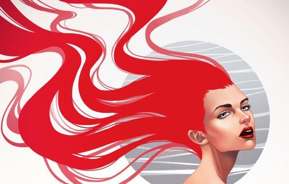 красные волосы арт - Поиск в Google