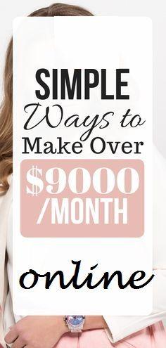Simple Ways To Make Money Per Month Online – Make Money Online