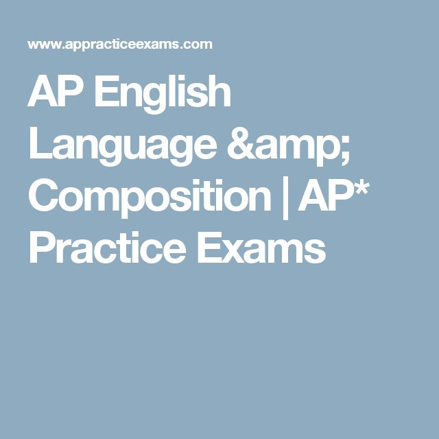 1997 ap english language essay The chief reader for the 2017 ap english literature and composition exam   students write essays that respond to three free-response prompts from the.