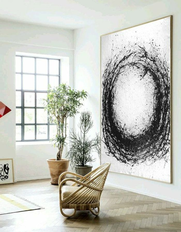 abstrakte zimmer deko ideen fur ihre wohnung archzine net wandbilder wohnzimmer minimalistische malerei bilder hochformat rote abstrakt