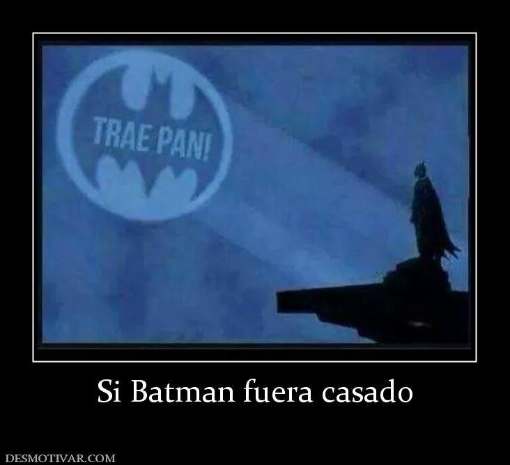 Si Batman fuera casado
