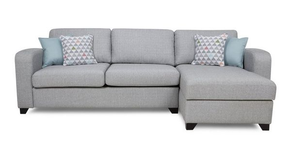 Lydia Right Hand Facing Chaise End 3 Seater Sofa