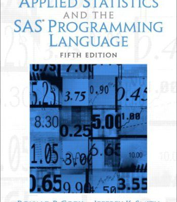 Best 25 sas statistics ideas on pinterest causes of human applied statistics and the sas programming language 5th edition pdf fandeluxe Image collections
