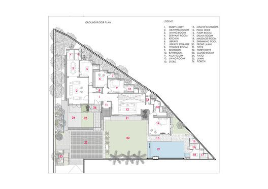 Gallery House,Plan