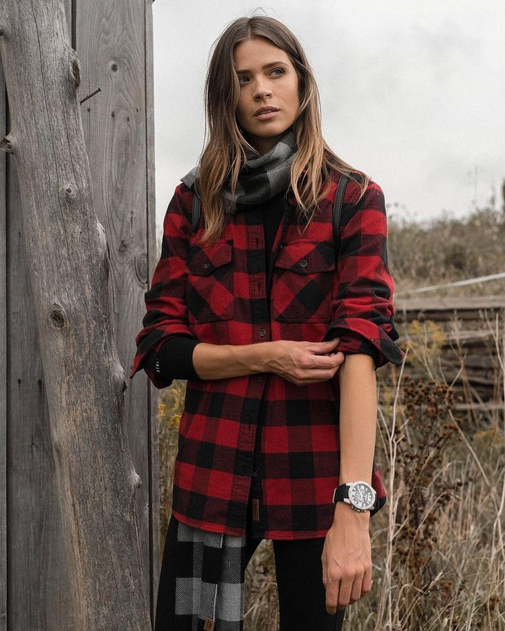 """2,092 Likes, 10 Comments - Roots Canada (@rootscanada) on Instagram: """"Crafted from our soft yet durable signature flannel, our Algonquin Shirt is a standout in any…"""""""
