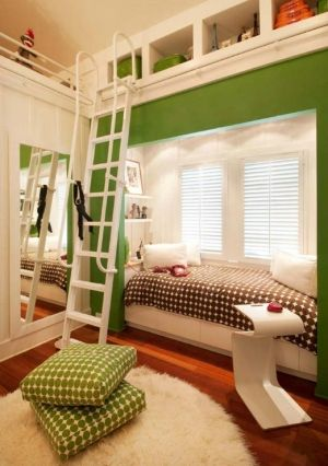 Built in bed with storage by sososimps