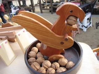 欅材 クルミ割り(菓子クルミ専用)