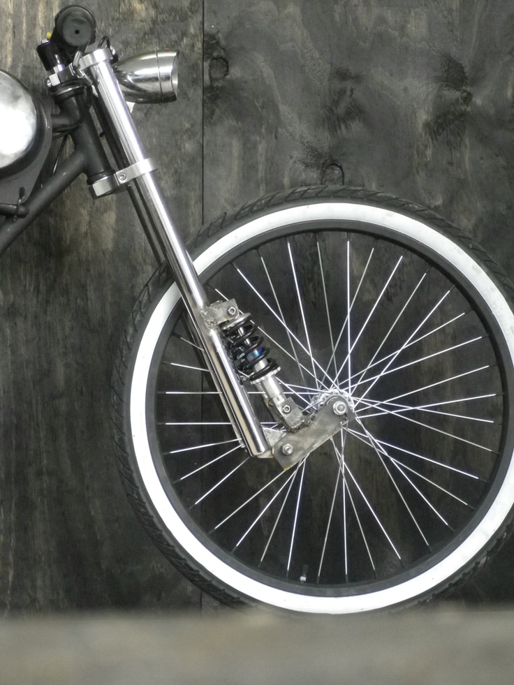 i will pruduce it for my moped but at first i will try it on mi bike