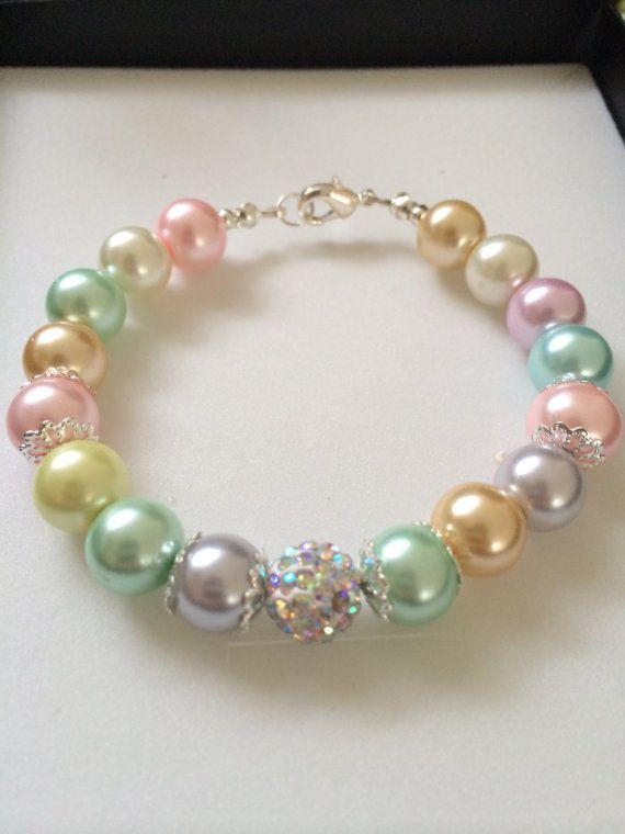 Pretty Pastel Spring/Summer Beaded Bracelets