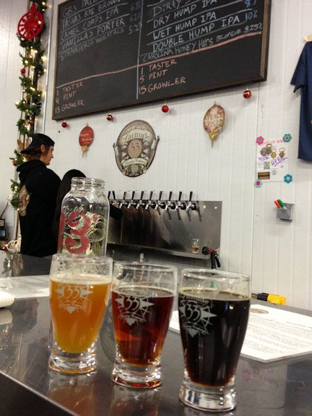Latitude 33 Brewing Company, Vista, CA. A full tour of North County San Diego Breweries: http://www.everintransit.com/north-county-san-diego-brewery-tour/