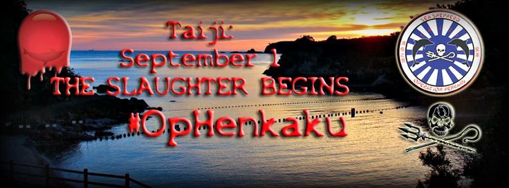 September, 2015. Sea Shepherd to Return to Taiji for a Sixth Season of its Dolphin Defense Campaign.  https://www.facebook.com/SeaShepherdCoveGuardiansOfficialPage/photos/a.109548735862032.19784.109164785900427/536407386509496/?type=1&theater #‎SeaShepherd‬ #‎tweet4taiji ‪#‎OpHenkaku