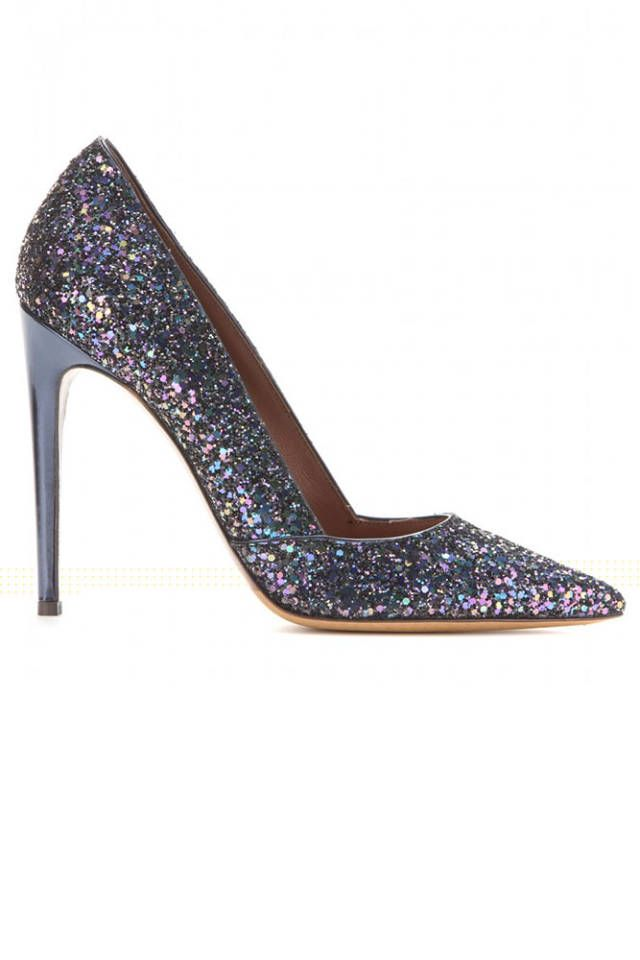 All that glitters: the best sparkly shoes and bags for the holiday season.