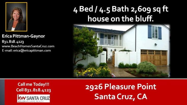 Houses in Pleasure Point  https://gp1pro.com/USA/CA/Santa_Cruz/Santa_Cruz/2926_Pleasure_Point_Dr_.html  Houses in Pleasure Point - Living in Pleasure Point is the epitome of what it means to live in Santa Cruz. It is a deeply rooted surfing community. Surf legend Jack O'Neill called Pleasure Point his home. His favorite beach was Pleasure Point Beach. This home sits right on the cliffs. All one needs to do to go surfing is walk out their back yard. Fire Pit and great outdoor area accommodate…