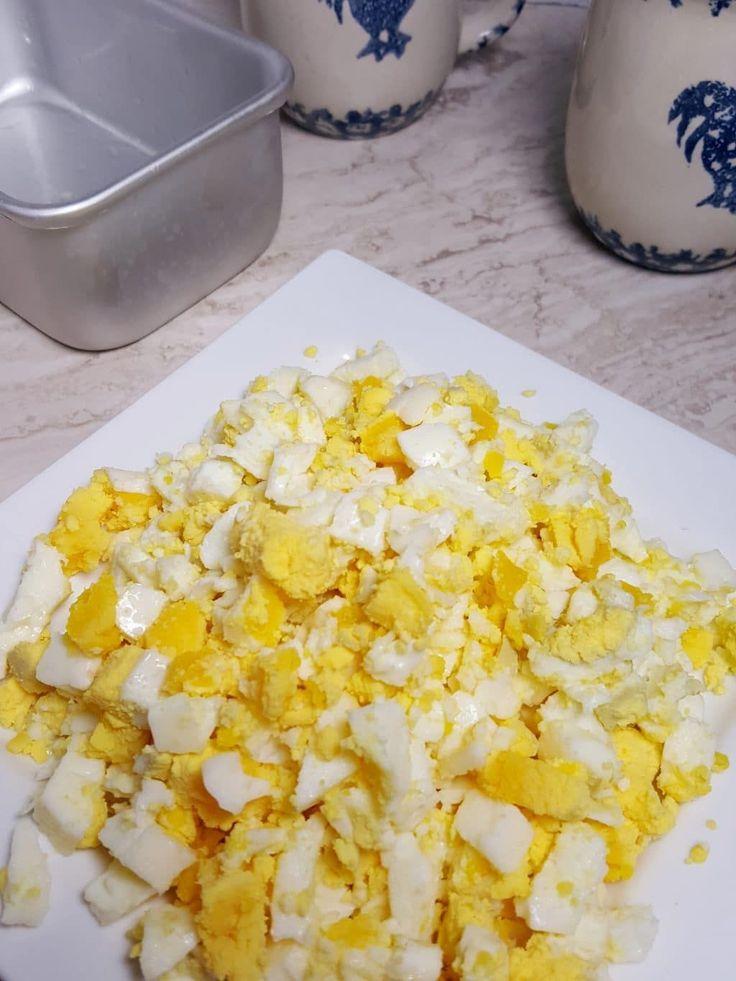 Pressure Cooker Hard Boiled Egg Loaf Image