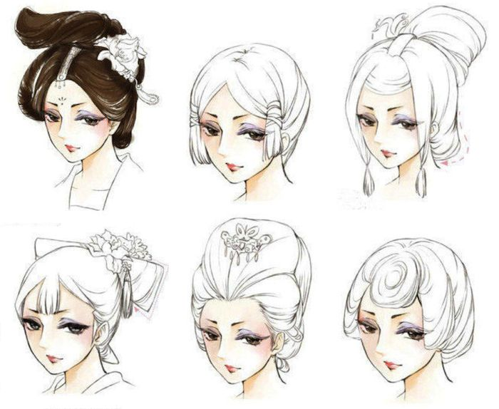 Which Chinese Ancient Hair Style Is Your Favorite?