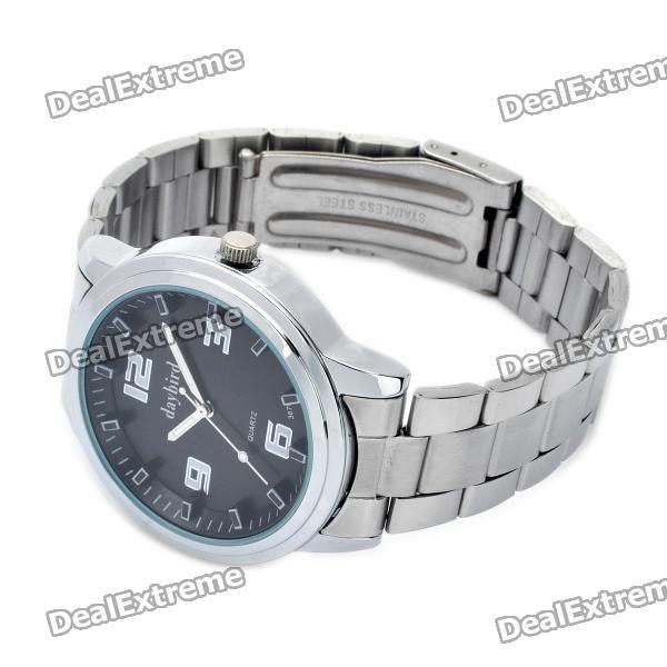 Fashion Stainless Steel Quartz Wrist Watch (1 x LR626)